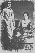 Amalia Freud and Sigmund in 1874